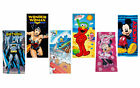 Disney Marvel DC Looney Tunes Sesame Street Beach Bath Gym Kids Adult Towel $14.99 USD on eBay