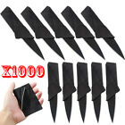 3-1000 Pcs Credit Card Thin Knives Cardsharp Wallet Folding Pocket Micro Knife
