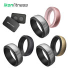 Silicone Wedding Ring for Men Women Rubber Bands Carbon Fiber Texture Rings Gift