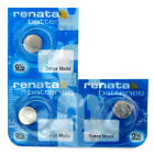 Renata Watch battery, All Sizes, Silver Oxide, Long Life, Swiss Made Batteries