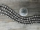 Lovely Navajo Pearls Necklace  ~ Choose length ~ 4, 5 & 8mm pearls