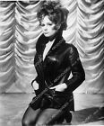 1960-013 Luciana Paluzzi sexy in black leather 1960-13 $12.99 USD on eBay