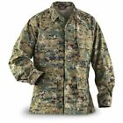 Tru-Spec USMC MARINE CORP Jacket Blouse Shirt Fatigue WOODLAND MARPAT MEDIUM