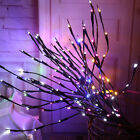 Led Decorative Twig Branch Fairy Lights With Flowers Effect Home Lighting