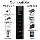 8 Ports USB 3.0 Hub Type-C Adapter High Speed Charging For Mac Laptop Notebook