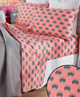 Twin Full or Queen Sheet Sets Kids Teens Bedding Animal Prints Cat Dog Hedgehog image