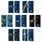 OFFICIAL NFL LOS ANGELES CHARGERS LOGO LEATHER BOOK WALLET CASE FOR HTC PHONES 1 $19.95 USD on eBay