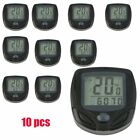 LOT Bicycle Speedometer Odometer Wireless Waterproof Bike Computer LCD Display@T