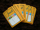 50 TRIVIAL PURSUIT AND OTHER TRIVIA GAME CARDS , MOVIES  FAMILY  TV  MUSIC LOGO