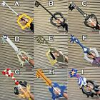 "Внешний вид - 32"" - 35"" FOAM Kingdom Hearts KEYBLADE SORA OBLIVION KEY BLADE Cosplay"