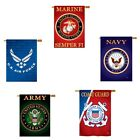 Licensed United States Military & Patriotic House Flag Banner- Assorted Branches for sale  Shipping to Canada