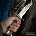 """12"""" FIXED BLADE HUNTING OUTDOOR CAMPING FISHING SURVIVAL BOWIE KNIFE 7"""" BLADE"""