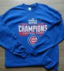 New 2016 World Series Champions Chicago Cubs Graphic Long Sleeve T Shirt Authen on Ebay