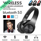 Bluetooth Headphones Over Ear Stereo Earphones Wireless Noise Cancelling Headset