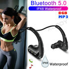 Kyпить Wireless Earphone Bluetooth 5.0 Headphone Waterproof Sport Headset For Swimming  на еВаy.соm