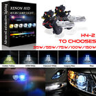 35W 55W 75W 100W 150W H4 9003 Hi-Lo HID Lamp Headlight Bulbs All Xenon Colors on eBay