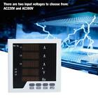 AC220V 1-5A LCD Digital Electric Current Voltage Frequency Instrument Meter