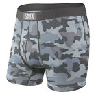 Saxx NEW Men's Ultra Fly Boxer Brief Graphite Stencil Camo BNWT