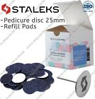 New Staleks Pedicure disc PD-25 Refill pads for pedicure 80 100 180 grit