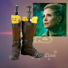 Star Wars 7 Leia Organa Solo General Boots Shoes $57.89 CAD on eBay