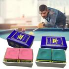 Triangle Cue Tip Chalk For Snooker Pool Billiard Tables  Green  Red  Blue  Hot $2.89 AUD on eBay
