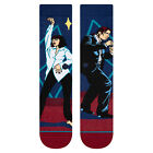 Stance NEW Men's Quentin Tarantino I Want To Dance Socks - Red BNWT