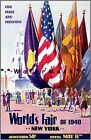 World's Fair 1939 1940 New York City Peace And Freedom Vintage Poster Print