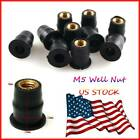 Motorcycle Rubber Well Nuts Fastener Windshield For Triumph Tiger 1050 2007-2012 $9.99 USD on eBay