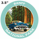 Banff National Park Car Truck Window Sticker Decal Vacation Souvenir Applique