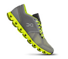 On Cloud X Grey/Neon Cross Trainer Shoe Sneaker Men's sizes 7-14 NIB