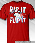 Philadelphia Phillies MLBPA BRYCE HARPER #3 Rip Flip Men's S/S Tee Shirt Red on Ebay