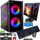 ULTRA FAST i3 i5 i7 Desktop Gaming Computer PC 2TB 16GB RAM...