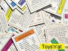 Monopoly Property Deed Card (One, Your Choice)
