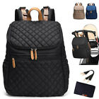Water Resistant Baby Diaper Bag U-Top Backpack Nappy Changing Bag Travel