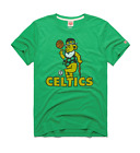 Boston Celtics Grateful Dead vtg retro NBA basketball homage t-shirt men's green on eBay