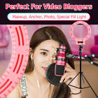 """12"""" LED Ring Light Kit with Stand Dimmable 5500K for Makeup Phone Camera US"""