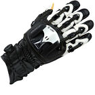 Knox Handroid Pod Black White Armoured Motorcycle Glove New RRP £169.99!!