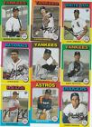 2019 TOPPS ARCHIVES BASEBALL 1975 DESIGNED U-PICK COMPLETE YOUR SET SENZEL RC on Ebay