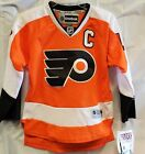 New! NHL Philadelphia Flyers Embroidered Youth Jersey $24.99 USD on eBay