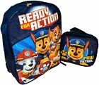 Paw Patrol Boys Girls School Backpack Lunch box Book Bag SET Kids Gift Toy