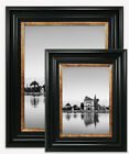 Photo Frame Vintage Style Black Gold Picture Poster Wide Large Wall Mounted UK