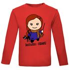 Harry Potter Hermione Granger Girls 6 mth- 6 yrs Cotton Gift Long Top T-shirt