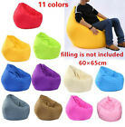 Bean Bag Chair Sofa Cover Large Pouch Beanbag Lazy Couch Single Chair Furniture