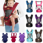 Kyпить Newborn Infant Baby Carrier Breathable Ergonomic Adjustable Wrap Sling Backpack на еВаy.соm