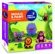Fevicreate DIY Mould & Paint Jungle Animals Toy kit for Children (Pack Of 1)