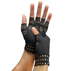 Magnetic Anti-Arthritis Health Therapy Pain Relief Fingerless Elastic Gloves