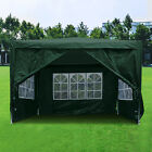 3x3M Heavy Duty Gazebo Marquee Canopy Waterproof Garden Patio Party Tent 2 Style