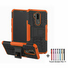 For LG G6 Stylus Q6 K10 2017 Case Rugged Armor Protective Cover with Kickstand