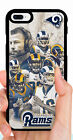LOS ANGELES RAMS PHONE CASE FOR iPHONE XS MAX XR X 8 7 PLUS 6S PLUS 5C 5S SE 4S $11.23 USD on eBay