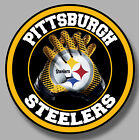 Pittsburg Steelers Vinyl Sticker Decal 8 Different Size Car Windows NFL football $4.0 USD on eBay